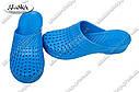 Женские шлепанцы синие (Код: С-45 КРОК), фото 2