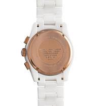 Наручные мужские часы Armani Ar1416 White Ceramic реплика, фото 3