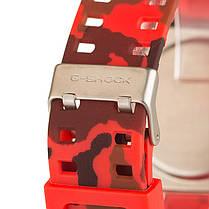 Спортивные часы Casio G-shock GA-110 Camouflage Red-Gold реплика, фото 3