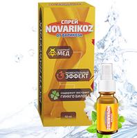 Эффективный спрей от варикозного расширения вен NOVARIKOZ (Ноуварикоз)