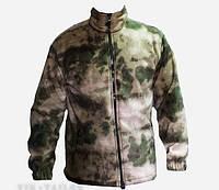 Куртка флисовая камуфляжная