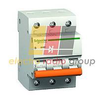 Автоматичний вимикач 4,5кА 3п 6А С