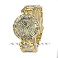 Бюджетные часы Michael Kors Fully Diamonds Gold
