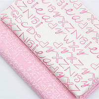 "Набор отрезов ткани для пэчворка ""алфавит"""