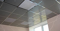 Зеркальные потолки в интерьере 600х600