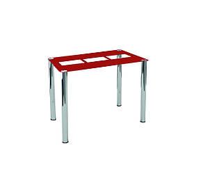 Стол обеденный стеклянный Квадро, фото 2