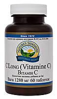 Витамин C-натуральные таблетки с витамином с, усиливает защитные функции организма.(60 табл.,США)