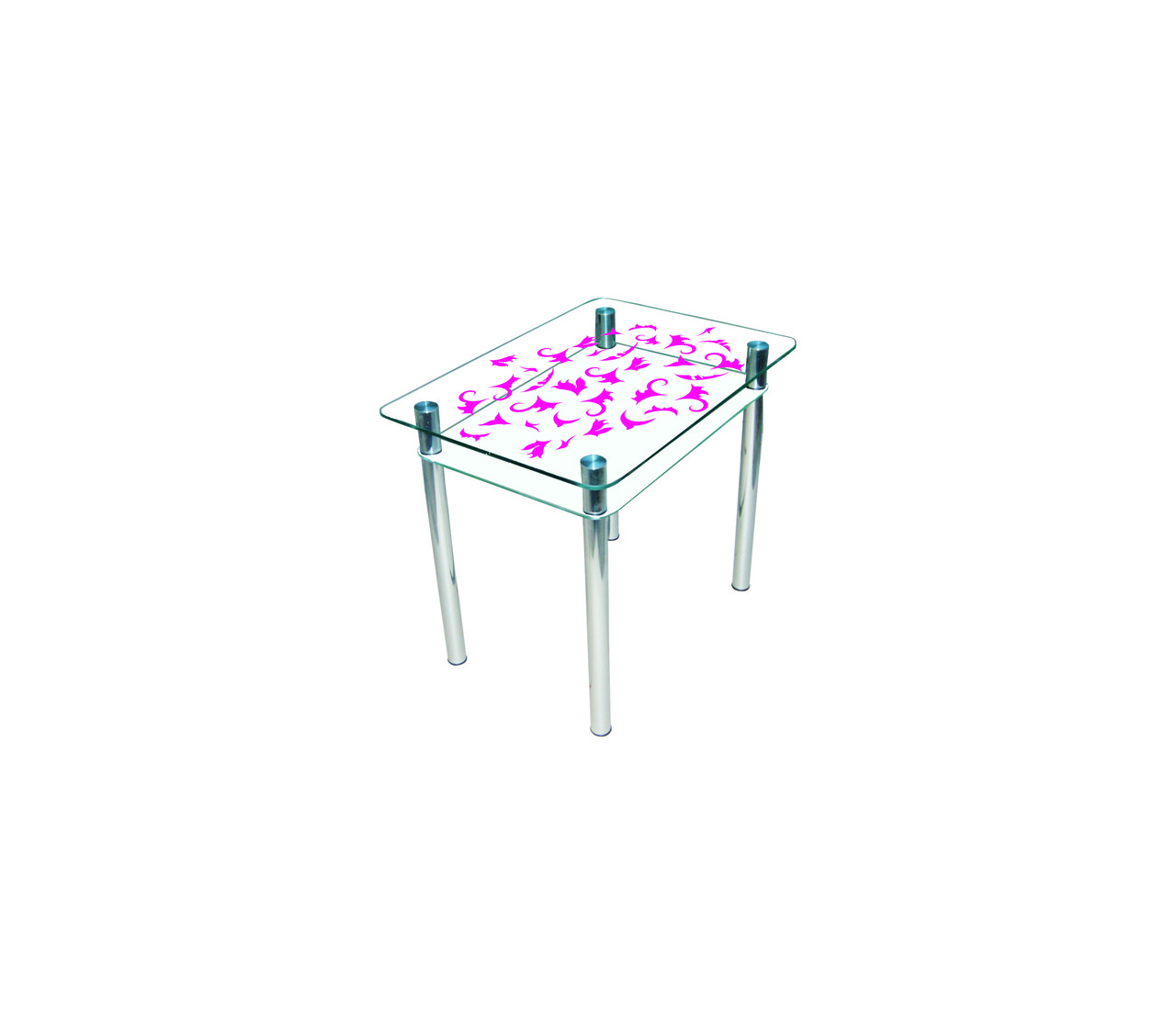 Стол обеденный стеклянный Простор