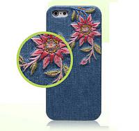 Чехол - бампер Ueme Jeans для Apple iPhone 5 / 5S / 5SE - Peony, фото 1