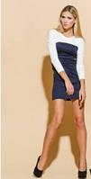 Женское трикотажное платье размер 46