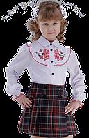 Вышиванка для девочки Даринка 92-128 см короткий рукав