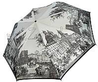 Женский зонт Zest Англия 19й век ЛЁГКИЙ ( полный автомат, 4 сложения ) арт.24755-32