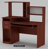 Стол компьютерный Комфорт-4 для дома и офиса с надстройкой