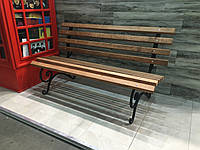 Скамейка кованая 1.3 м. без перил
