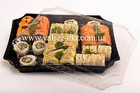 Упаковка для суши с фирменным логотипом 30*25*5