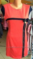 Женское трикотажное платье размер 48-50