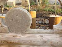 Ленточная пакля для деревянного дома в рулоне