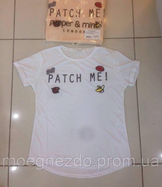 Женская стильная белая футболка с надписью  продажа 687890bce75e1