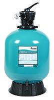 Фильтровальная емкость TAGELUS TA40, 480 мм, 9 м 3 /час шестиходовой боковой клапан, 80 кг песка