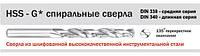 Сверло по металлу Р6М5 д.8*75*117мм HAISSER