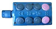 04.02.000 Пульт Р6-КШП-6 (8 кнопок) переключатель кнопочный