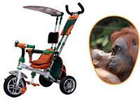 Велосипед детский трехколесный, колеса пена, Азимут Сафари BC-15A. Azimut Safari