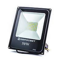 Прожектор Евросвет EVRO LIGHT ES-50-01 50W 2750Lm 6400K IP65 SMD, фото 1