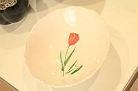 Пиала с тюльпанами