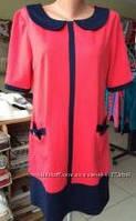 Женское трикотажное платье размер 48,50