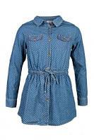 Джинсовое платье-рубашка Glo Story 9693 (р.116,122,128,146)