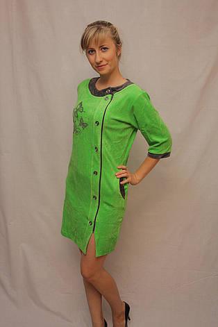 Велюровый халат, фото 2