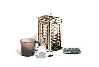 """Чайный домик """"Телефонная будка"""" под декупаж"""