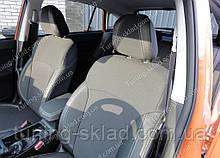 Чехлы на сиденья Субару XV (чехлы из экокожи Subaru XV стиль Premium)