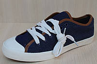 """Джинсовые кеды подросток тм """"DCF"""", спортивная стильная, удобная, текстильная обувь , фото 1"""