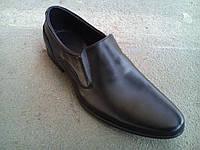 Туфли черные мужские кожаные  39 -45 р-р, фото 1