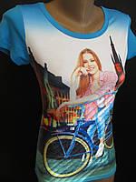 Летние молодежные футболки с ярким рисунком., фото 1