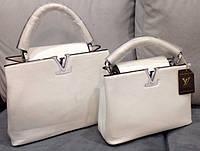 Сумка Louis Vuitton белая мини