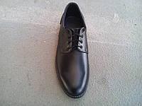 Туфли черные мужские кожаные  40 -47 р-р, фото 1