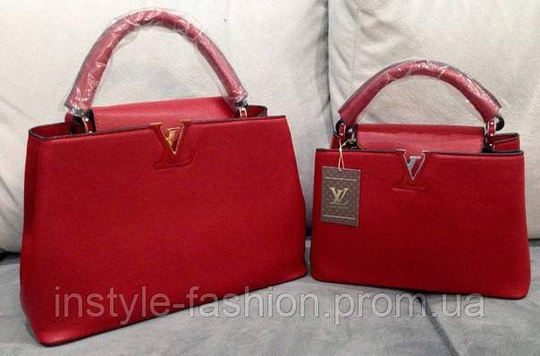 Сумка Louis Vuitton красная мини