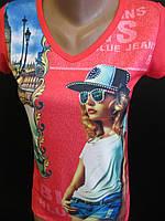 Яркие футболки для девочек., фото 1