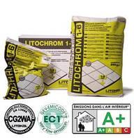 Затирка на цементной основе Litochrom C40 антрацит, Литокол 5 кг