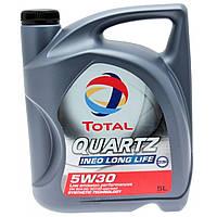 Моторное масло TOTAL QUARTZ INEO LONG LIFE 5W-30 канистра 5л