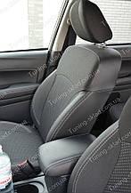 Чехлы на сиденья Субару Форестер 4 (чехлы из экокожи Subaru Forester 4 стиль Premium)