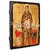 Деревянная икона Вера, Надежда, Любовь и мать их София, 17х23 см., фото 3