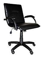 Кресло Samba GTP WOOD пластик, винилискожа CZ-3 (Примтекс Плюс)