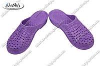 Женские сланцы фиолетовые (Код: С-45 КРОК)