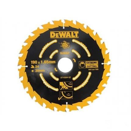 Диск пильный DeWalt DT10304, 190 мм, фото 2