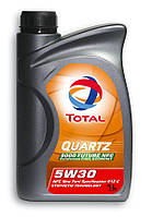 Моторное масло TOTAL Quartz Future NFC 5W-30 канистра 1л
