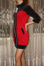Молодежный велюровый халат, фото 3