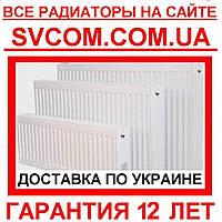 Стальные радиаторы нижнее подключение VK 22 500х1400